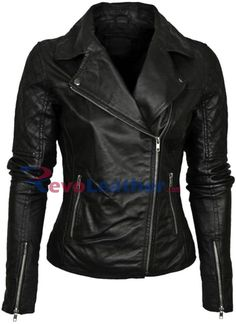 Leather Skin Womens Green Brando Genuine Leather Jacket with Black Sleeves Lederhaut Damen Grün B . Green Leather Jackets, Leather Jacket Outfits, Vintage Leather Jacket, Leather Skin, Black Leather, Soft Leather, Biker Leather, Revival Clothing, Jackets For Women