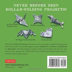 Mini Money Origami Kit: Make the Most of Your Dollar!: Origami Book with 40 Origami Paper Dollars, 5