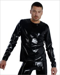 Latex t-shirt, regular fit, long sleeves by Blackstyle