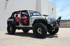 2011 Jeep Wrangler JK Unlimited Sport 4-Door 3.8L *NO LIMIT CUSTOM* LIFTED, US $48,499.00, image 1