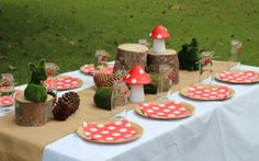 Party Supplies and Boutiques - My Kids Party Pine Cone Tree, Cone Trees, Mini Milk Bottles, Burlap Bunting, Burlap Table Runners, Woodland Fairy, Mad Hatter Tea, Party Stores, Brown Paper