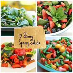 10 Fresh & Skinny Spring Salads | Babble