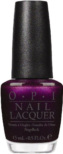 """OPI Germany Colledction ...  """"Every Month is Oktoberfest""""  Prost! Here's to the prettiest plum in the Biergarten."""