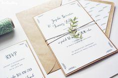 oryginalne zaproszenia ślubne eko
