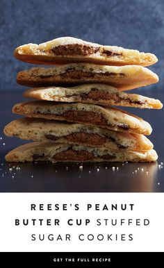 If we're being honest, sugar cookies aren't exactly the most exciting dessert. However, stuff them with an entire REESE'S Peanut Butter Cup and you've got our attention — via @PureWow