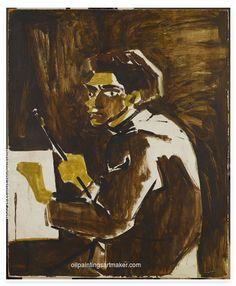 Dino Abidin - Self portrait, 1947 Magic Realism, Turkish Art, Art Database, Paintings For Sale, Contemporary Paintings, Art For Sale, Les Oeuvres, Surrealism, History