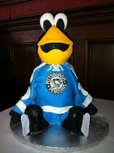 This was cool hockey grooms cake