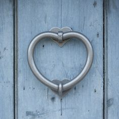 Heart Door Knocker made by Jim Lawrence