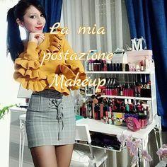 """Mi piace"": 7, commenti: 4 - M A R Y A M (@maryam_beauty80) su Instagram: ""Nuovo video sul canale #postazionemakeup #makeuptable #makeuproom #makeupcollection #vanitytable…"""