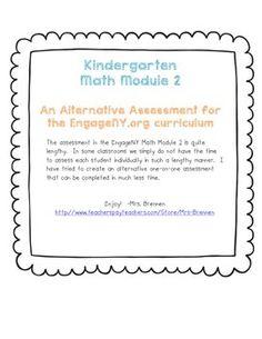 Engageny Kindergarten Math Module 3 Application Problem
