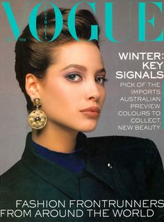 Christy - Vogue Aust Feb 1987