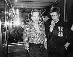Candid photos of Johnny Thunders, Siouxsie Sioux and The Clash from the mid-1970s