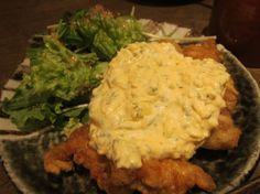 Fried chicken with egg mayo sauce at Tsukada nojo - chicken nanban