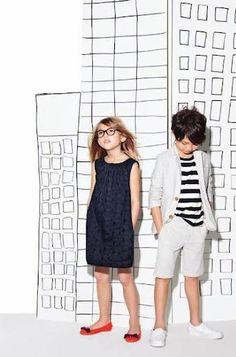 kids fashion, boys fashion, girls fashion, stripes, dress