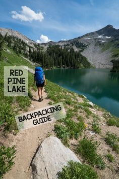 Red Pine Lake is one of the prettiest and most accessible trails in Salt Lake City, just 35 minutes from downtown. This hiking and backpacking guide has tons of pics to inspire you and all the info you need to hit the trail. #hiking #backpacking #saltlakecity