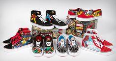 Custom Vans Off the Wall | Marvel Comics x Vans collectie