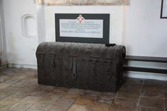 Parish Chest hold lots of information that dates back to 1538.