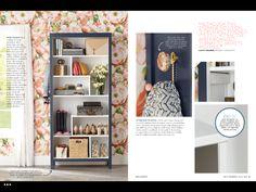 Love the shelf layout