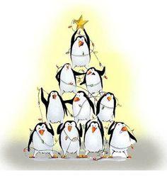 Penguin tree!