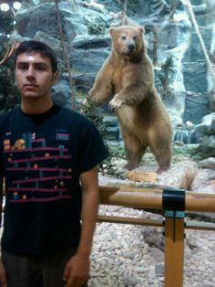 At Cabela's in Buda, Texas