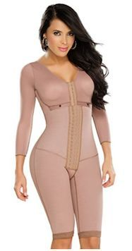 Medicated Full Body Shaper with Sleeves Vintage Lingerie a4231e4f0c8c
