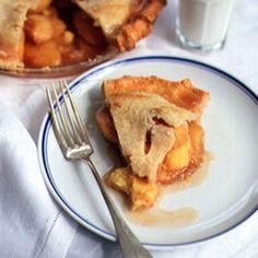 Ginger Peach Pie Recipe | SAVEUR