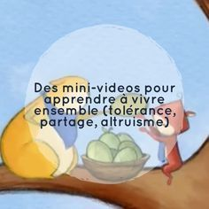 Mini-videos to learn to live together (tolerance sharing altruism) French Teacher, Teaching French, Education Positive, Kids Education, French Songs, French Classroom, Cycle 3, French Lessons, Video Film