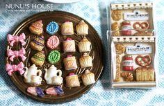 *フレンチモチーフ* - *Nunu's HouseのミニチュアBlog* 1/12サイズのミニチュアの食べ物、雑貨などの制作blogです。