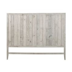 Buy Woodend Reclaimed Pine Timber Headboard, Queen Size from LivingStyles for Australia wide delivery. Headboard made in reclaimed pine wood. Finished in hand rubbing water based paint antique white color. White Wooden Headboard, Shiplap Headboard, Herringbone Headboard, King Headboard, Bed Frame Sizes, Pine Timber, Grey Wood, Quality Furniture, Hazelwood Home