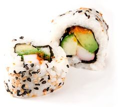california rolls and many other sushi recipes How To Make California Rolls, California Roll Recipes, California Roll Sushi, Diy Sushi, Homemade Sushi, Sushi Sushi, Sushi Recipes, Asian Recipes, Healthy Recipes