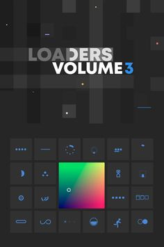 Loaders Volume 3 - Sketch Templates - Ideas of Sketch Templates - Loaders Volume 3 Interaktives Design, Design Page, Game Ui Design, Flat Design, Mobile Ui, Mobile App Design, Android App Design, Design Thinking, Interface Design