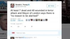 London Mayor Sadiq Khan wants Trump& state visit canceled Cnn International, Mayor Of London, Donald Trump Tweets, And Justice For All, News Articles, Google News, Quotes To Live By, At Least, Politics