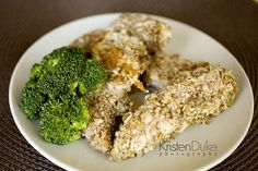 Walnut  Almond Crusted Baked Chicken {no sugar, no carb}