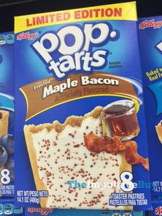 SPOTTED ON SHELVES: Limited Edition Frosted Maple Bacon Pop-Tarts