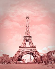 Paris in pink, Eiffel Tower, Paris Decor, France 8 x 10 Fine Art Photography Tour Eiffel, Torre Eiffel Paris, Paris 3, Paris Love, Pink Paris, Paris Photography, Fine Art Photography, Paris Wallpaper, Pink Eiffel Tower Wallpaper