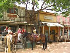 Enchanted Springs Ranch is an working ranch located in San Antonio, Texas. The ranch boasts with live animals, re-enactors, authentic western-style buildings, and a variety of activities for a full-day of old west fun. Texas Vacations, Texas Roadtrip, Texas Travel, Travel Usa, Vacation Trips, San Antonio Vacation, Places To Travel, Places To Visit, Visit Texas