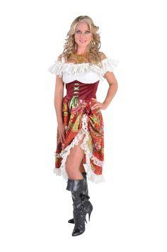 Zigeunerin Lang - Beroepen - Dames - Hendriks Carnaval