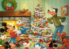 A disney christmas disney mickey mouse christmas merry christmas christmas tree goofy christmas pictures donald duck christmas ideas happy holidays merry xmas Disney Merry Christmas, Christmas Tumblr, Disney Christmas Decorations, Mickey Mouse Christmas, Christmas Cartoons, Noel Christmas, Vintage Christmas, Christmas Ideas, Christmas Ecards