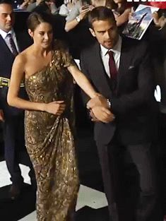 "Holding hands...looking nervous. Is she telling him ""it's ok?"" Freaking adorable!! #Sheo"