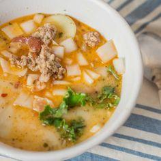 Healthy, simple meal ideas: Crock-pot Zuppa Toscana #shopmeals #relayfoods