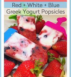 greek yogurt popsicl