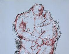 Dada deddel-Nanny and child Working On Myself, New Work, Sculptures, Behance, Gallery, Children, Creative, Check, Art