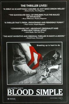 4e4002239c88d Blood Simple Blood Simple, Film Stills, Great Movies, Awesome Movies, Viera,