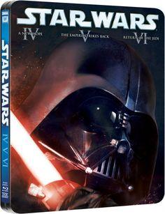 Star Wars Original Trilogy - Limited Edition Steelbook (Blu-ray)