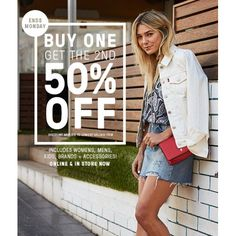 50% off the 2nd Mens and Womens Clothing @ Just Jeans - Bargain Bro