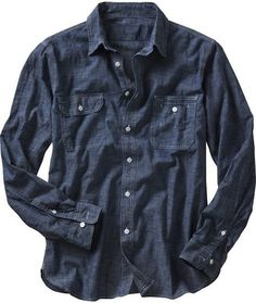 Gap - Chambray Shirt, circa 2008. Is it considered vintage now?
