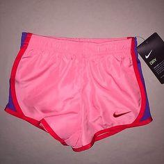 Girls 3 3t Nike Dri Fit Running Shorts Nwt