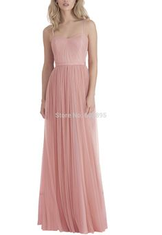 Find More Bridesmaid Dresses Information about Designer long dress bridesmaid for weddings spaghetti straps tulle floor length bridesmaid dresses online vestidos de madrinha,High Quality dress star,China bridesmaid dress Suppliers, Cheap bridesmaid dress alterations from youthbridal on Aliexpress.com