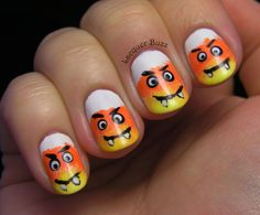 Lacquer Buzz: Sat-ART-Day Club: Halloween