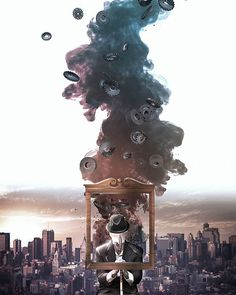 [Urban Isolation ] #maxon #cinema4d #3d #formes #urban #city #visual #graphic #photoshop #adobe #modelisation #rsa_graphics #artfido #gentleman #mixed #photomanipulation #insta #instaart #instadays
